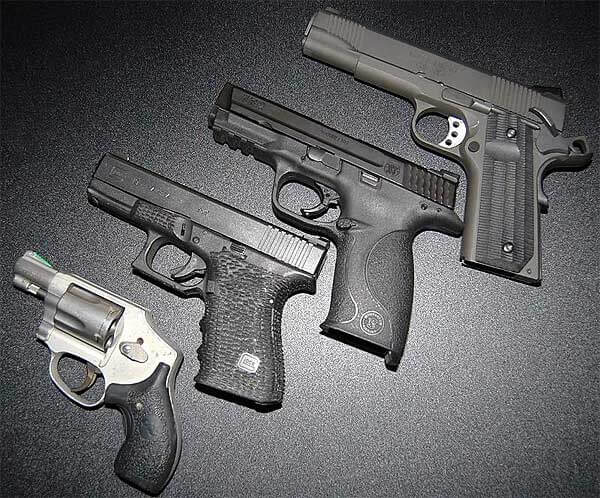 pistol selection