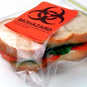 preppers will - mishandling food
