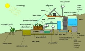 Prepper's Will - Earthship Water Recycling system