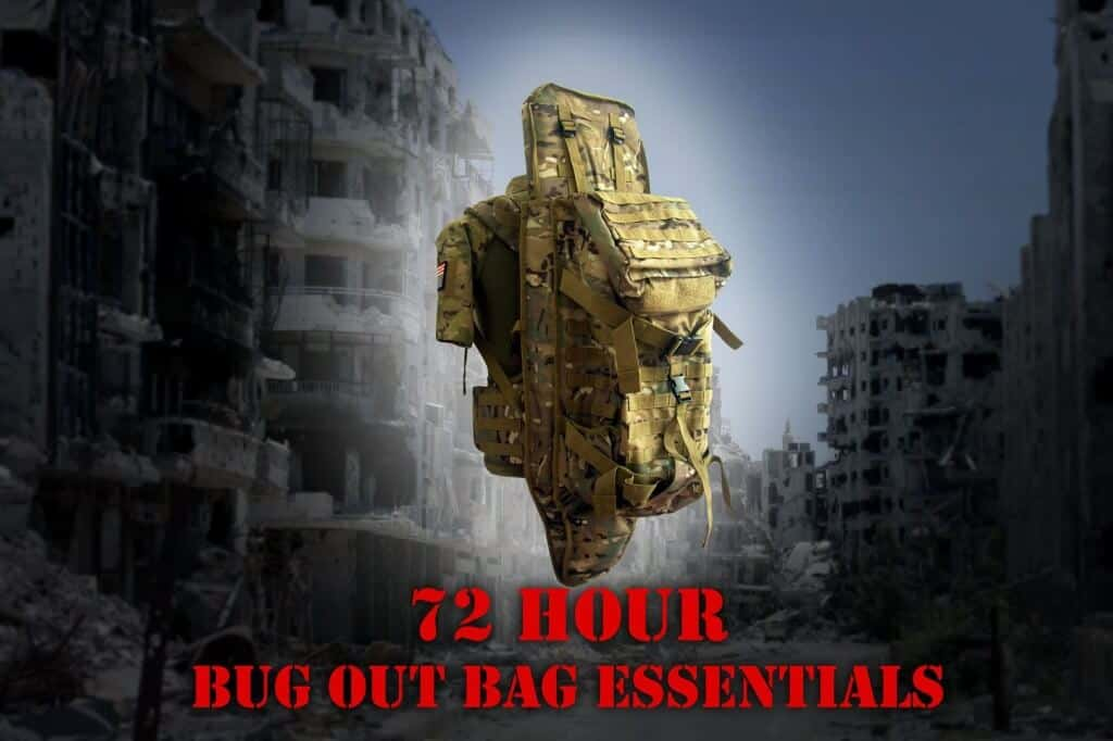 Items That Should Be In Your 72 Hour Bug-Out Bag