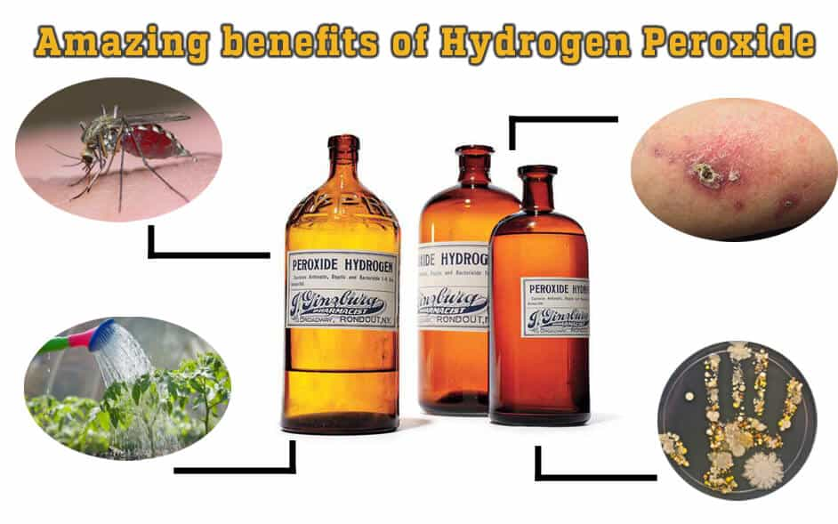Amazing Benefits And Uses Of Hydrogen Peroxide