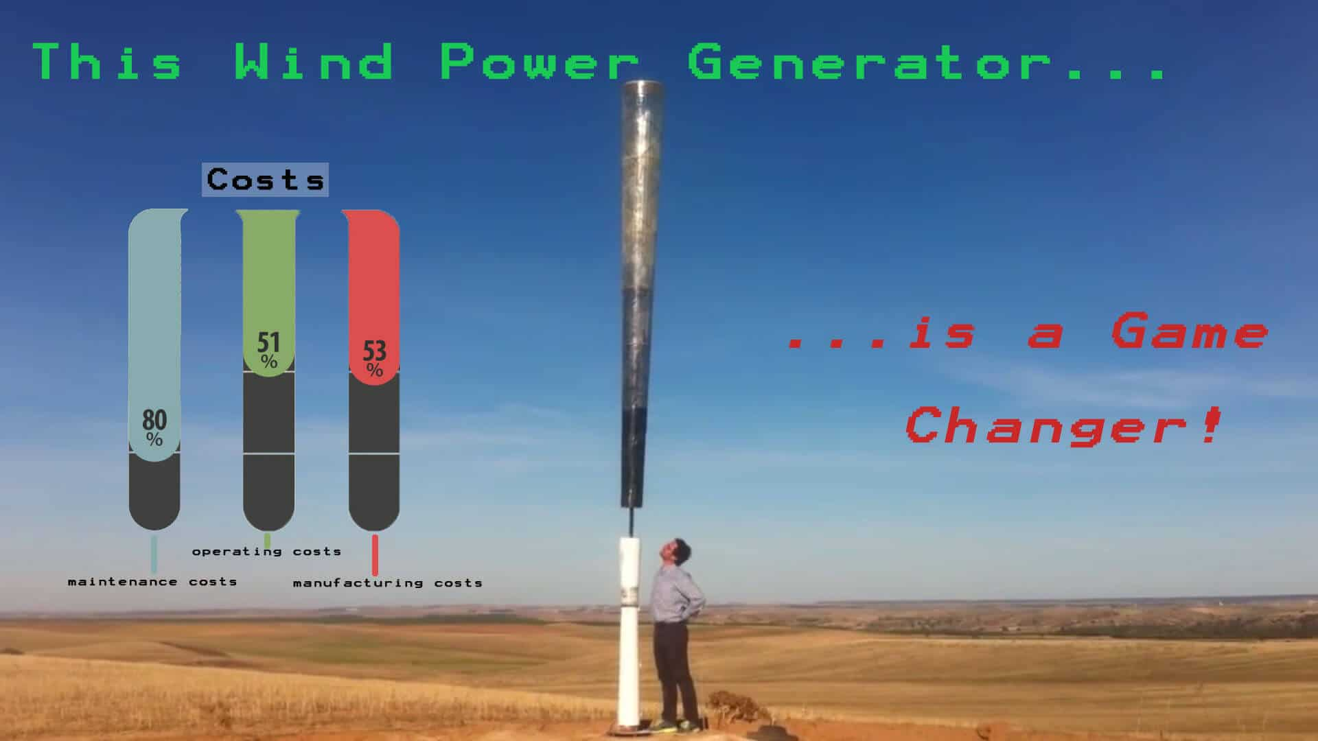 Prepper's Will - Vortex Bladeless a new generation of wind power generators
