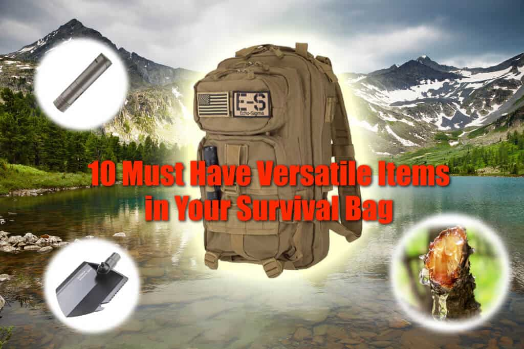 10 Versatile items you need in your survival bag