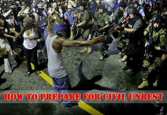 Preparing for Civil Unrest
