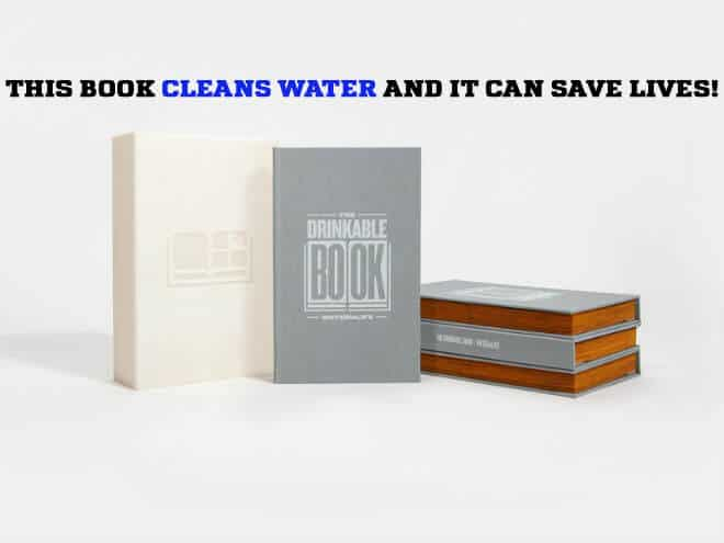 This Amazing Drinkable Book Cleans Water