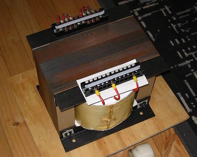 Prepper's Will - Transformer for the micro hydro plant