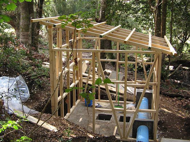Preppers's will - Pen-stock for the micro hydro plant