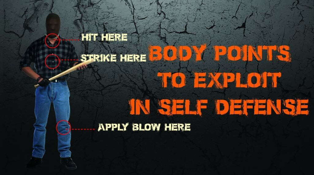 Body Targets To Exploit In Self-Defense