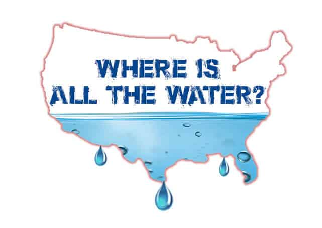 Mega Drought In Progress - Where Is All The Water?