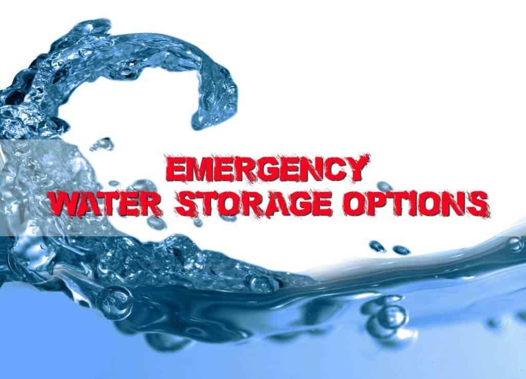 Emergency Water Storage Solutions
