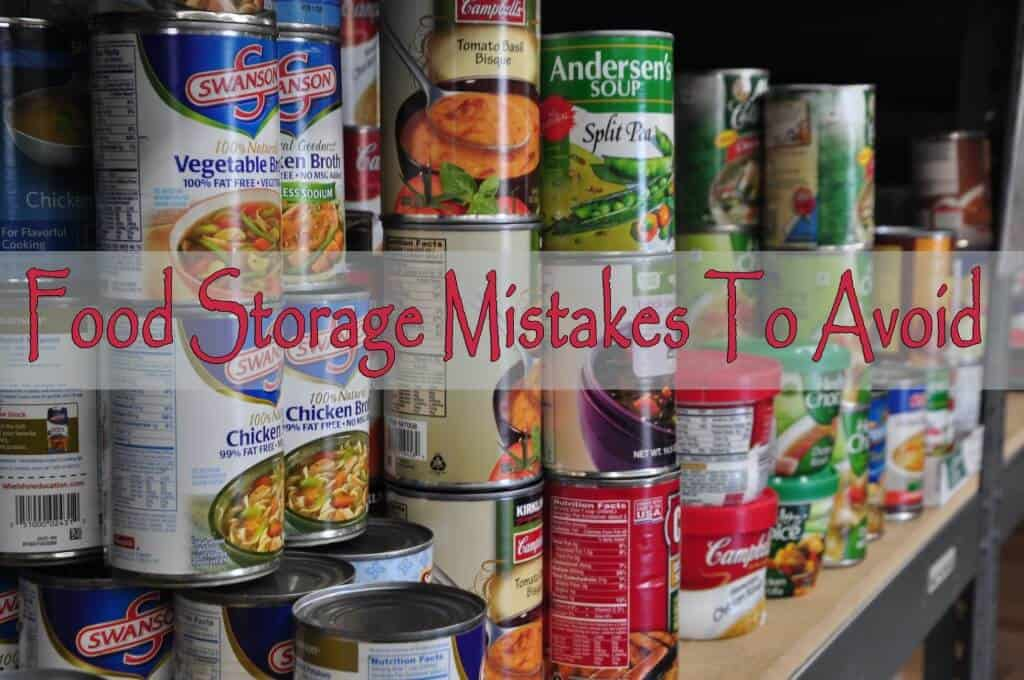 The Food Storage Mistakes Everyone Should Avoid