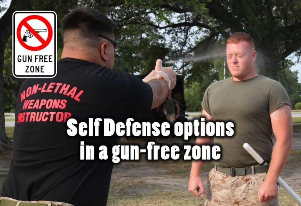 Self Defense In A Gun-free Zone