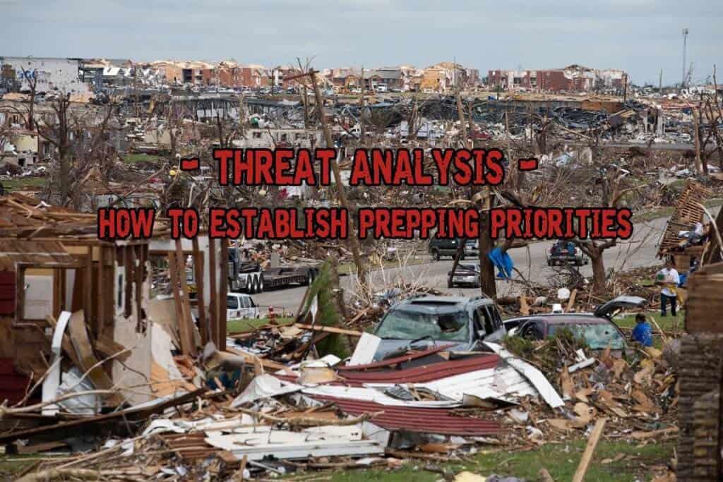 Threat Analysis - Establishing Prepping Priorities