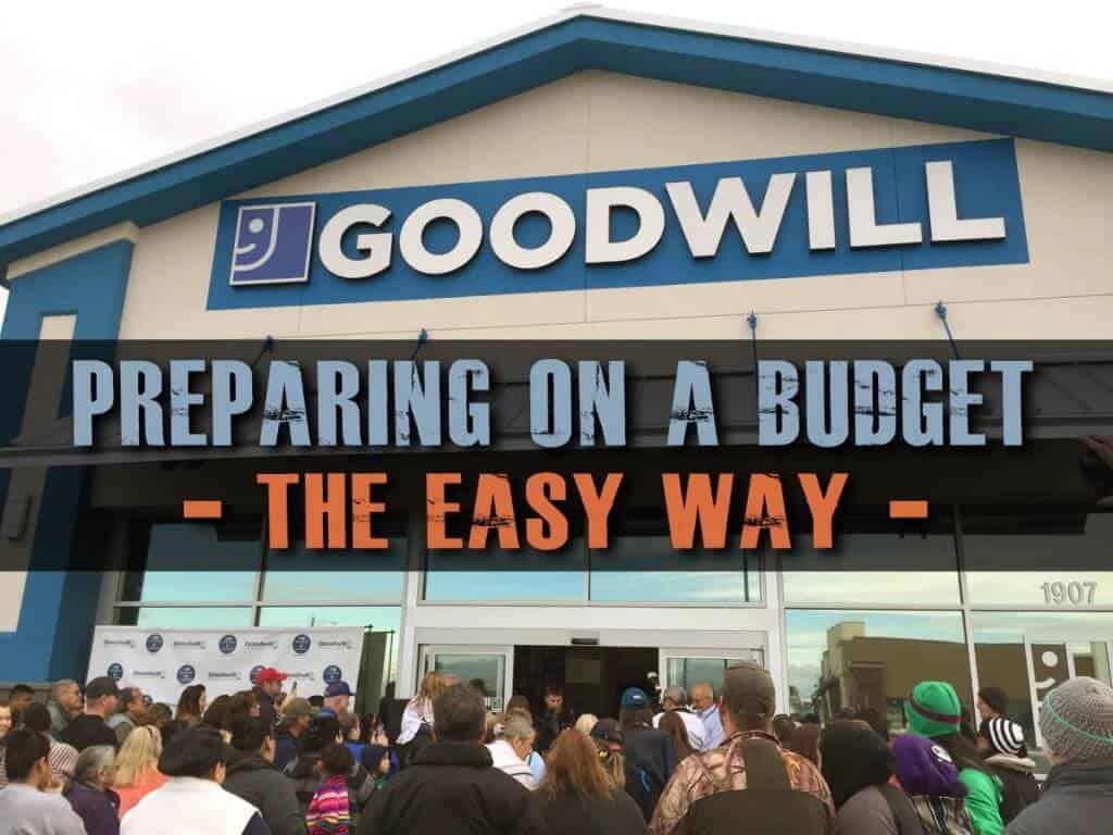 Preparing On A Budget