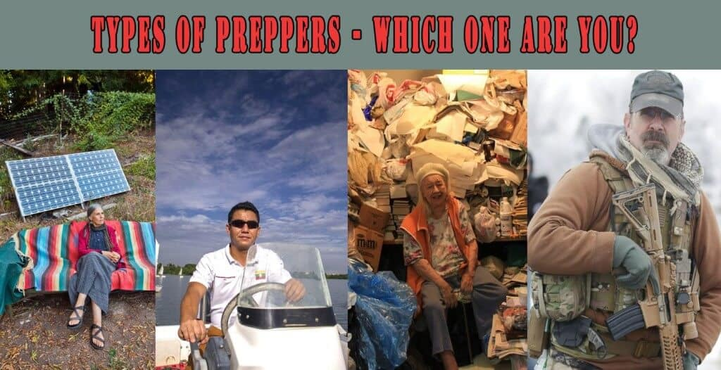 Types Of Preppers - Which One Are You?