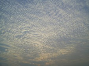 Predict the weather using the clouds - Cirrocumulus Clouds