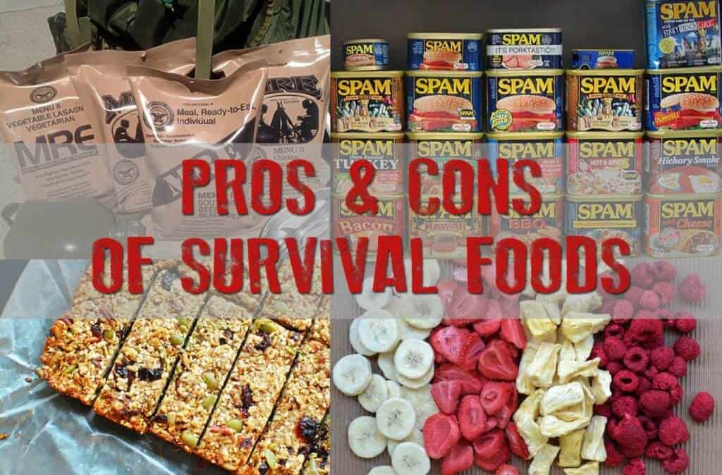 Pros & Cons Of Various Survival Foods
