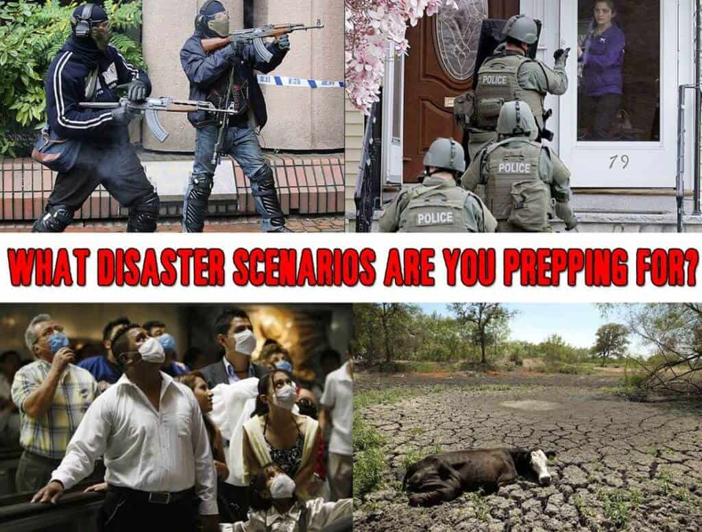 What Disaster Scenarios Are You Prepping For?