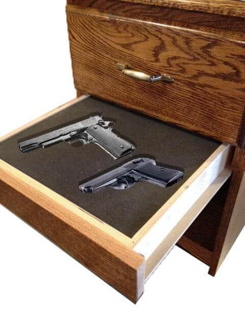 Hide your guns - fake drawer