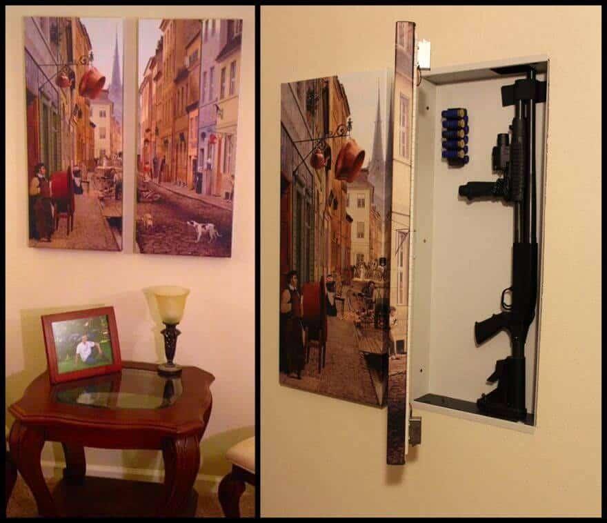 Hide your guns - picture safe