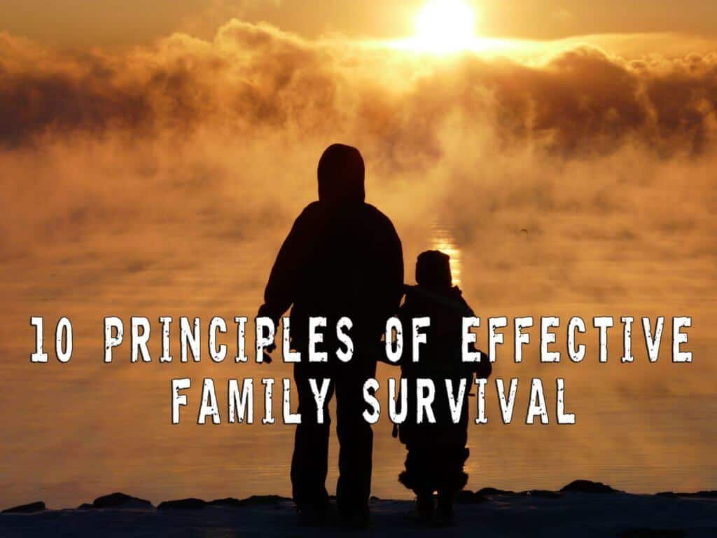 The 10 principles of effective family survival