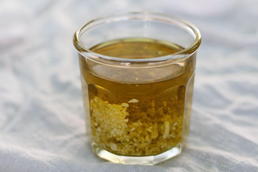 Antibiotic garlic tincture