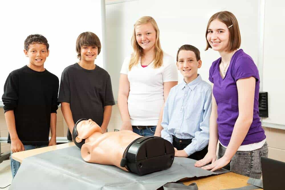 First-aid class for Kids