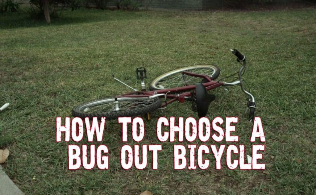 How to Choose a Bug Out Bicycle to Escape Chaos