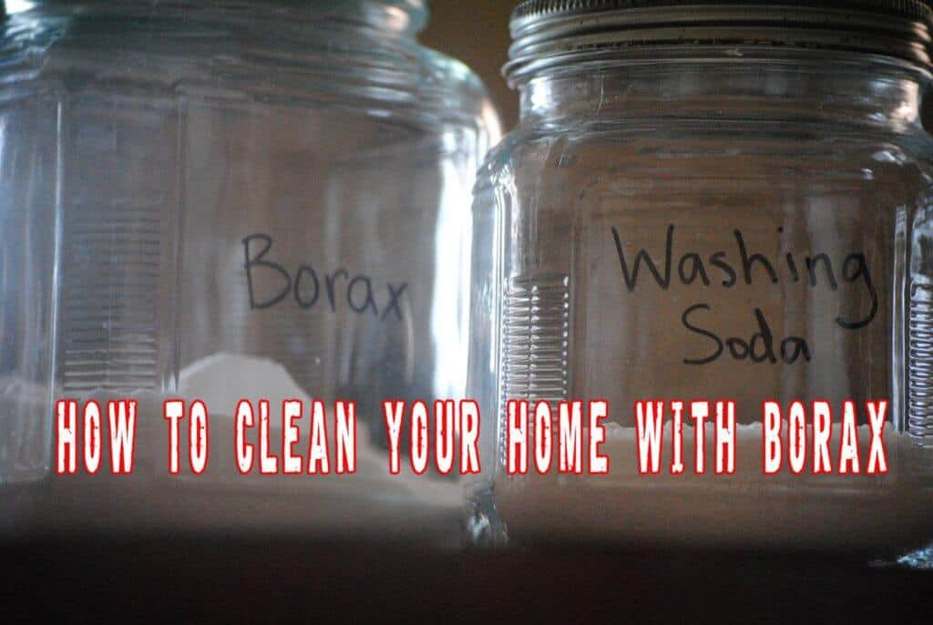 How To Clean Your Home With Borax