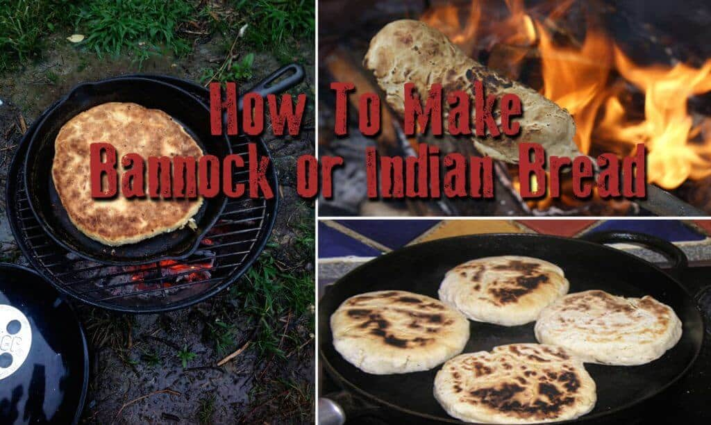 How to make Bannock or Indian Bread, the food of mountain men