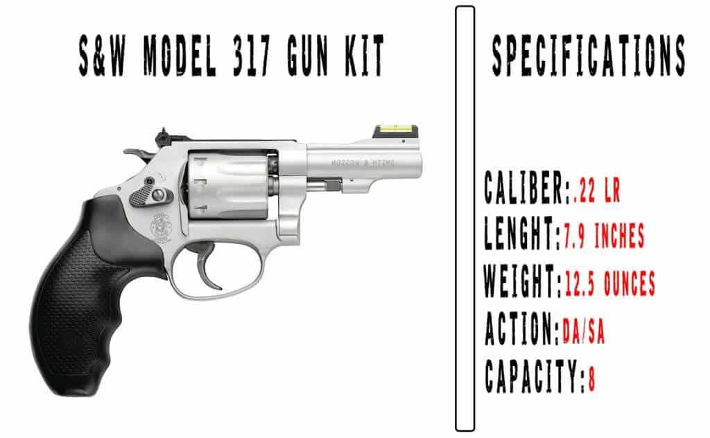 Smith & Wesson Model 317 Gun Kit