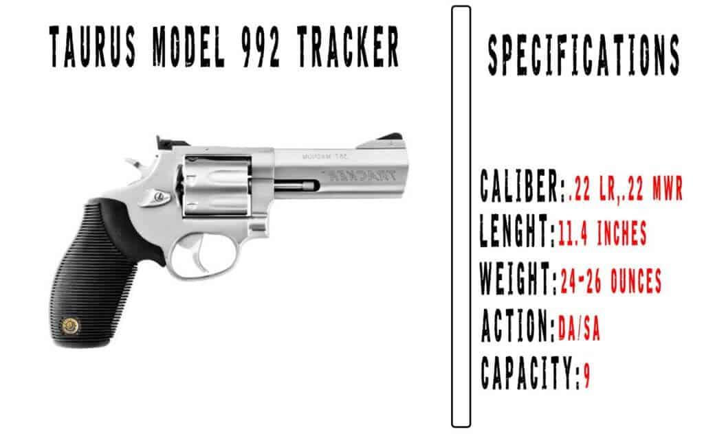 Taurus Model 992 Tracker
