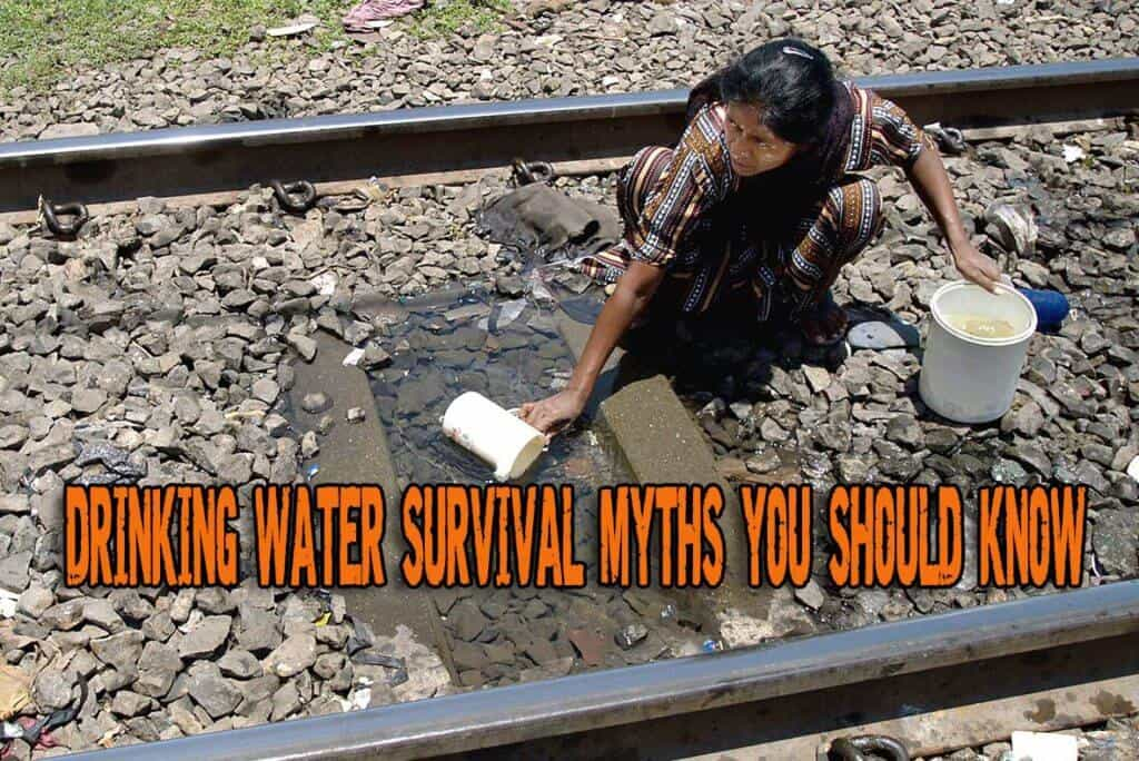 Drinking Water Survival Myths You Should Know