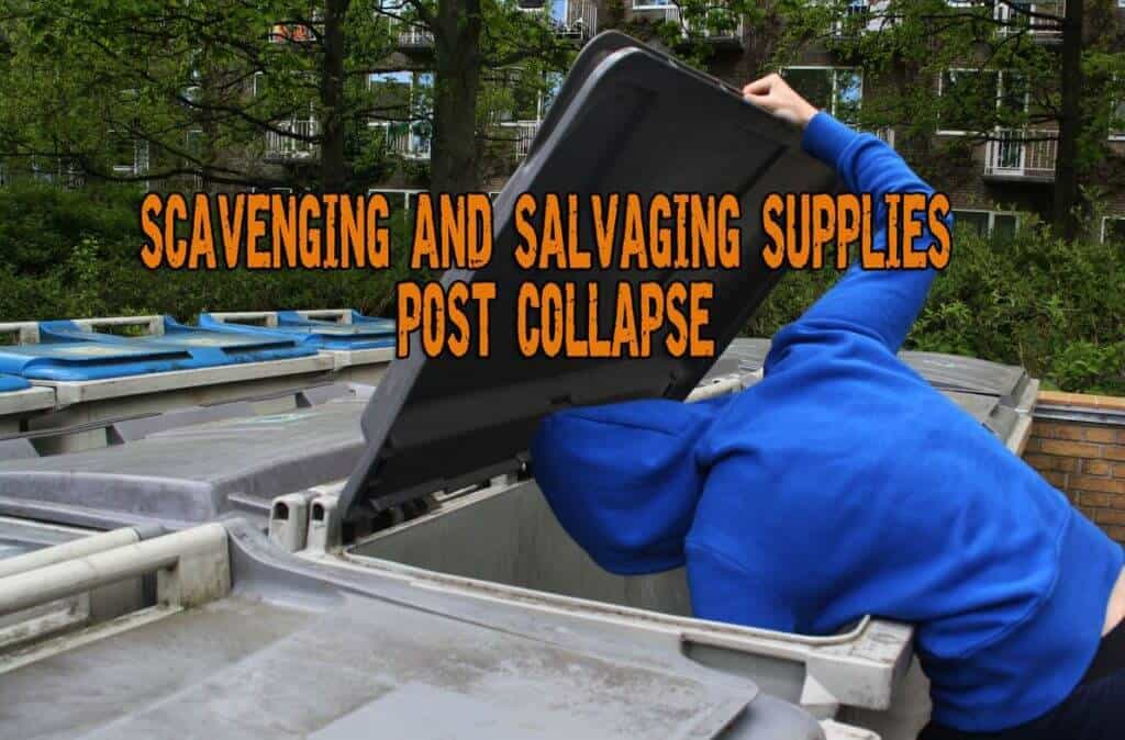 Scavenging and Salvaging Supplies Post Collapse
