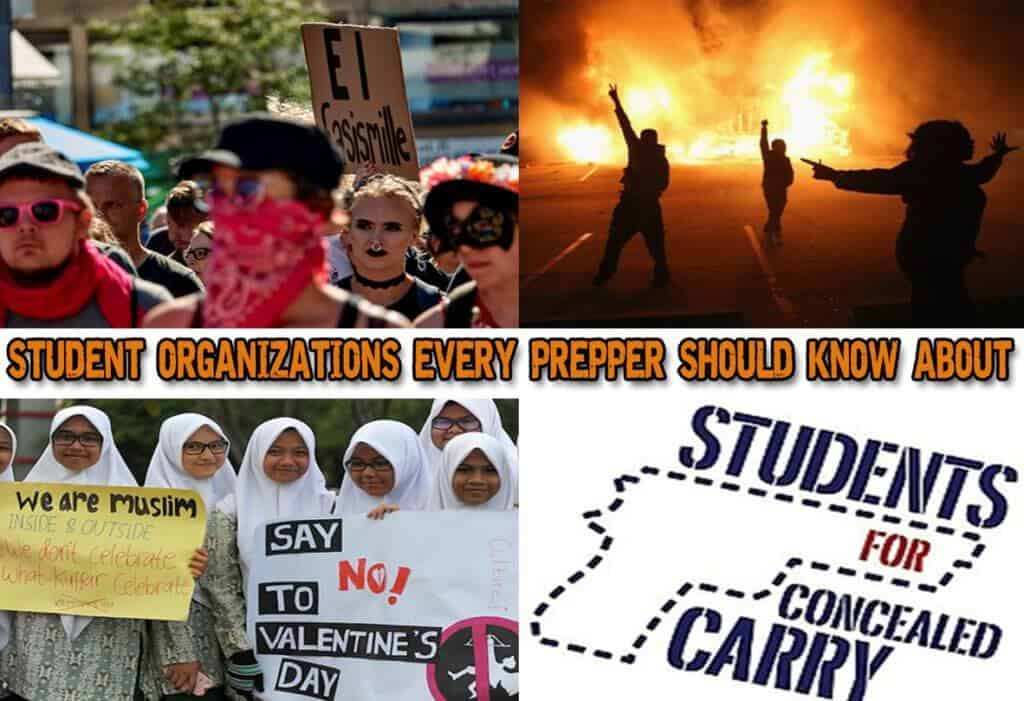 Radical Student Organizations Every Prepper Should Know About
