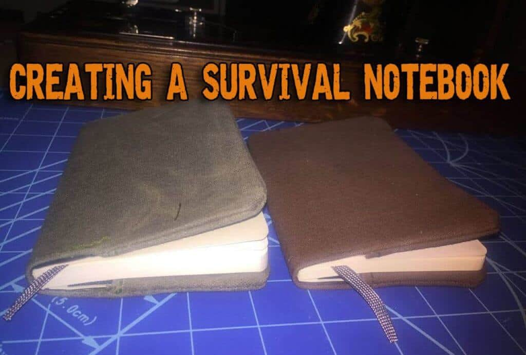 Creating A Survival Notebook For SHTF Times