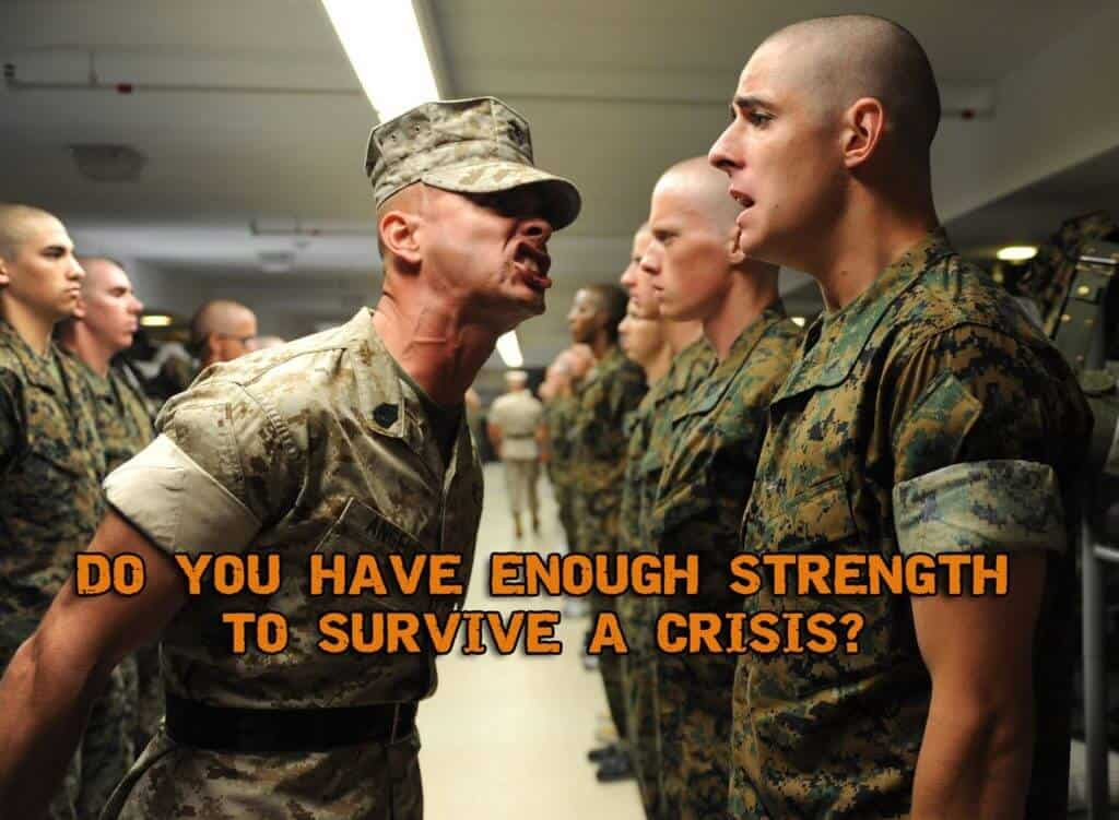 How Can I Build Enough Strength To be Useful During A Crisis?