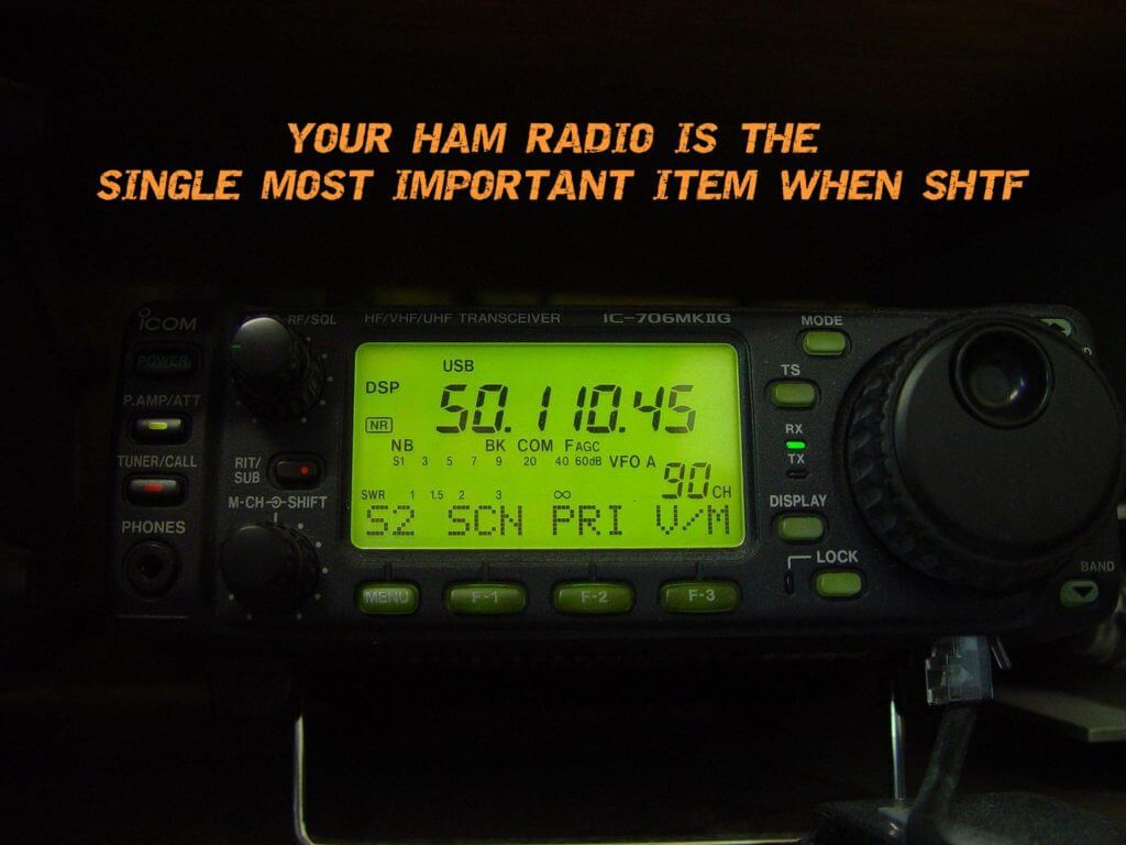 Your HAM Radio Is The Single Most Important Item When SHTF