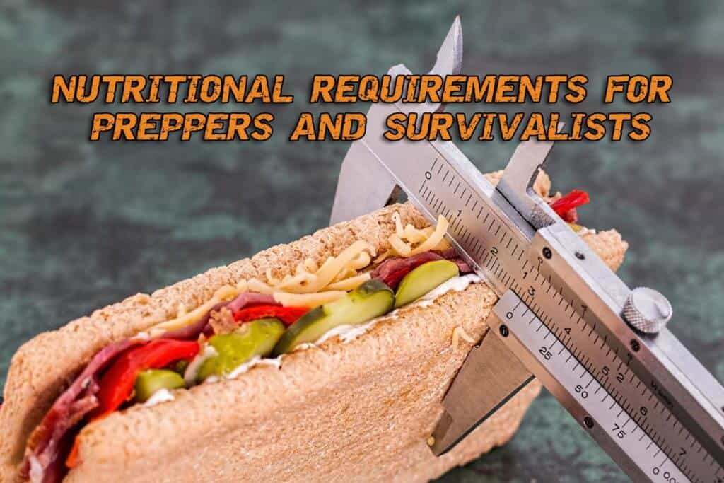 Nutritional Requirements For Preppers And Survivalists