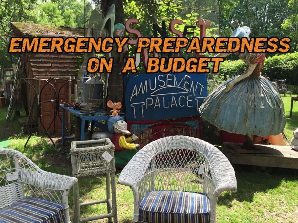 Emergency Preparedness On A Budget