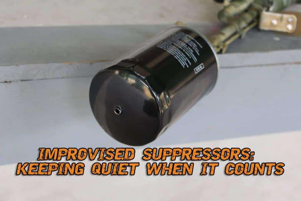 Improvised Suppressor: Keeping Quiet When It Counts