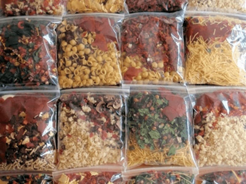 Dehydrated meals