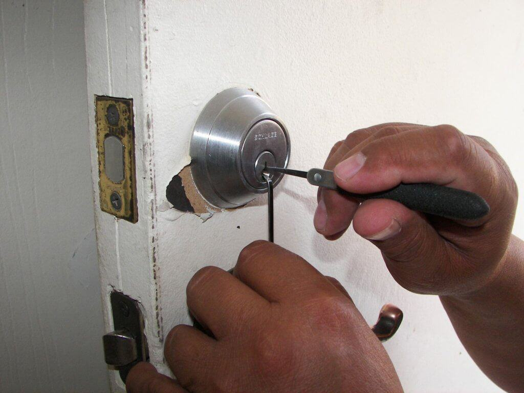 Home defense door locks