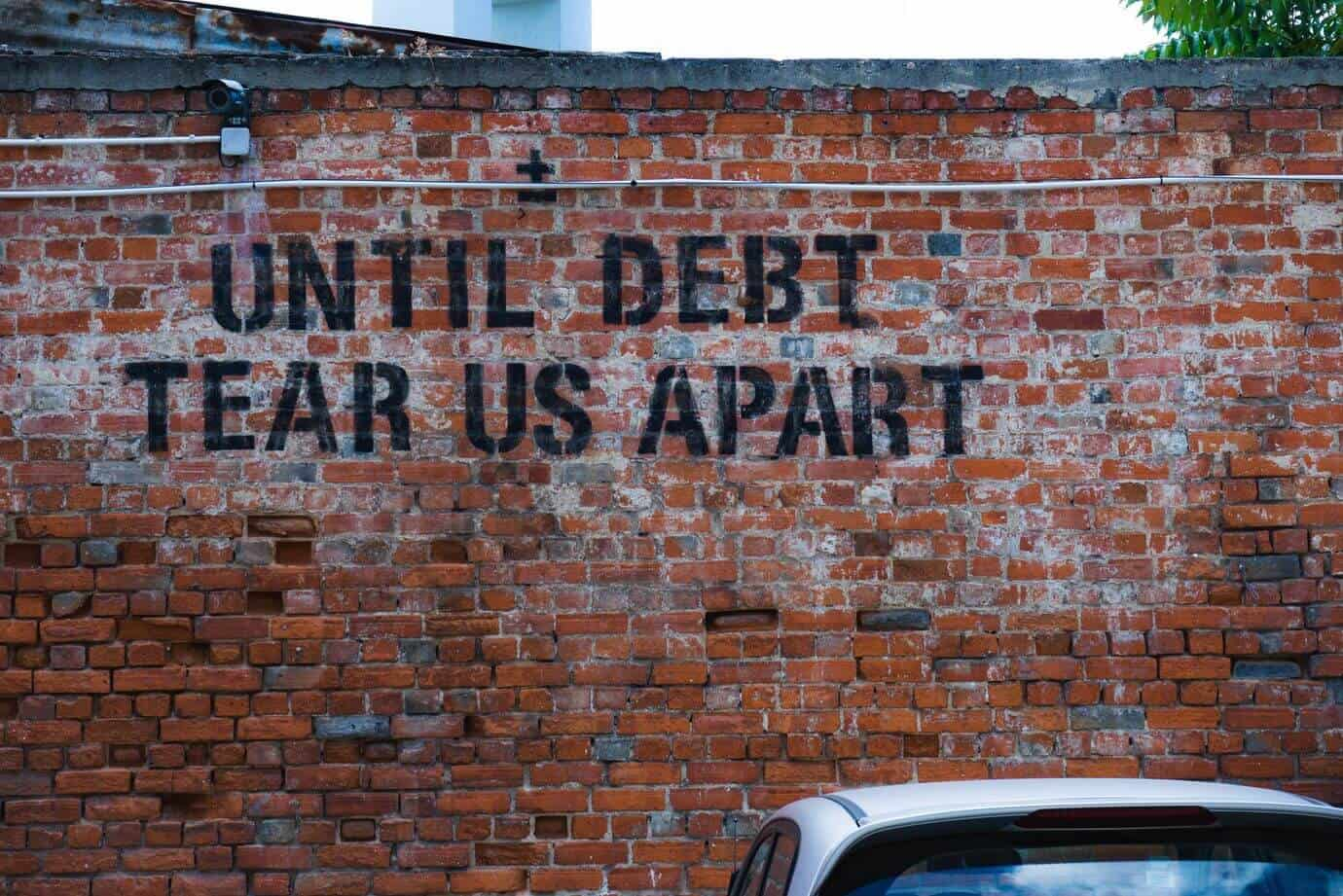 The value of money when you are in debt
