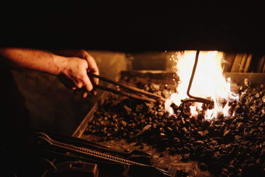 Forge for Blacksmithing