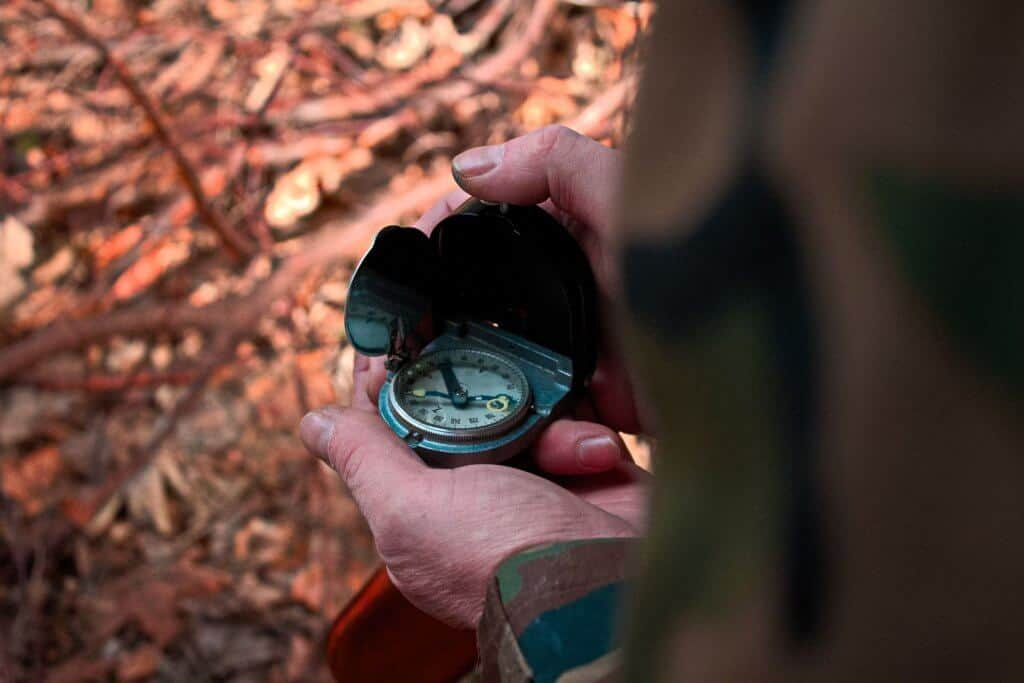 Getting lost In The Wilderness and using a compass