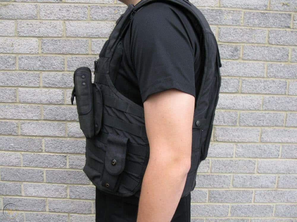 Body Armor From The Side