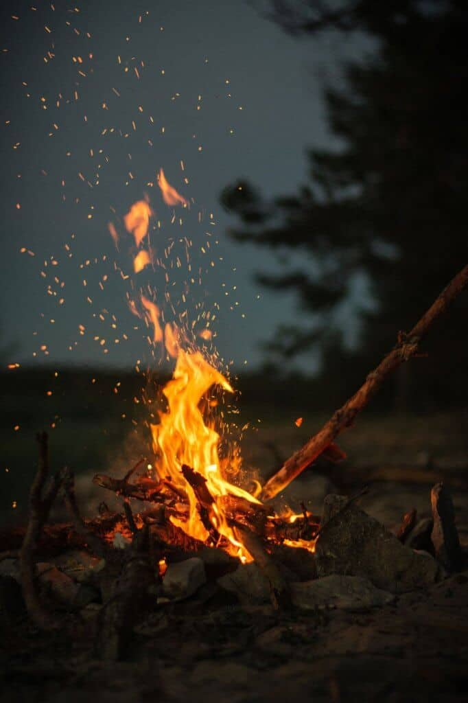 Making A Campfire With You Pocket Survival Items