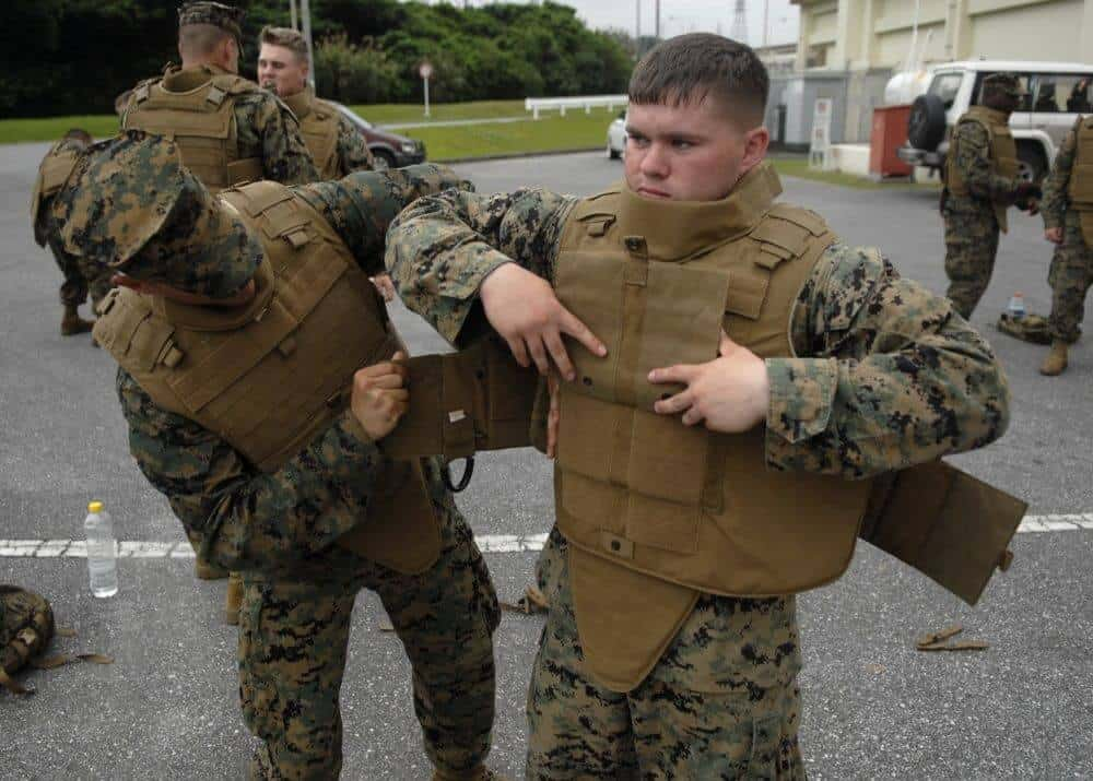 Suiting Up In Hard Body Armor