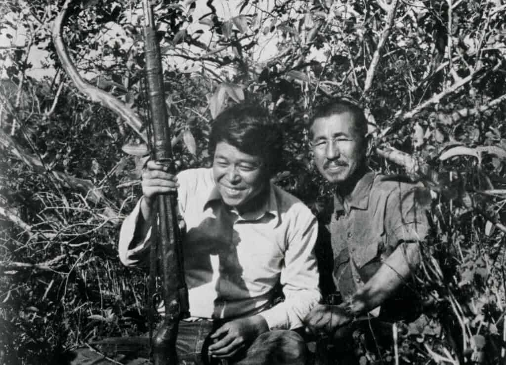 Hiroo Onoda In The Jungle